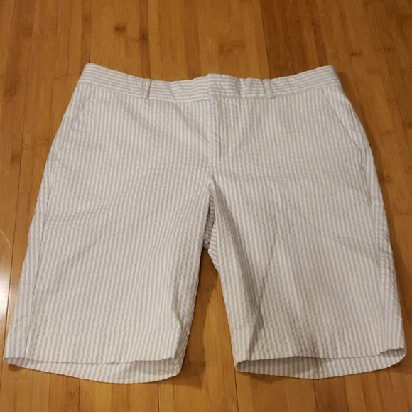 Banana Republic Pants - Banana Republic Seersucker Shorts